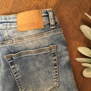 Zara Basic Denim Jean Capris